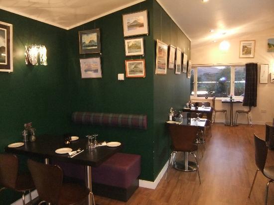 Waterside Cafe Bistro interior