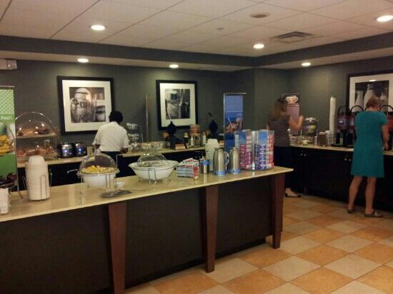 Hampton Inn & Suites Ft. Lauderdale/West-Sawgrass/Tamarac : café da manhã