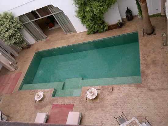 Riad Shama: La piscine