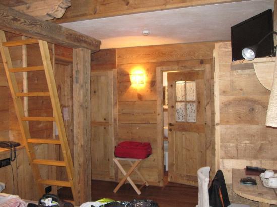 Hotel Svizzero : la nostra camera
