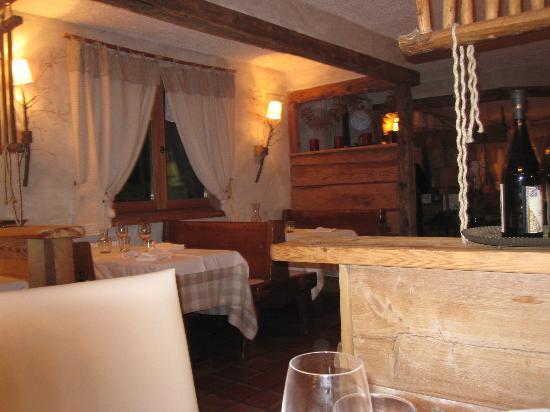 Hotel Svizzero : ristorante per colazione e cena molto carino