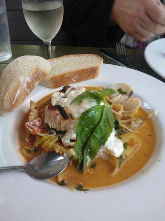 Pasta Piatti: swordfish fillet