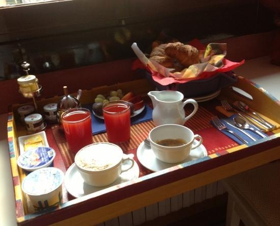 Casa Gottardi: beautiful breakfast