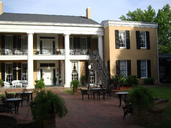 Cedar Grove Mansion Inn & Restaurant: back view