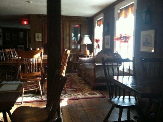 Rider's Inn: Inside the tavern -- October 2012