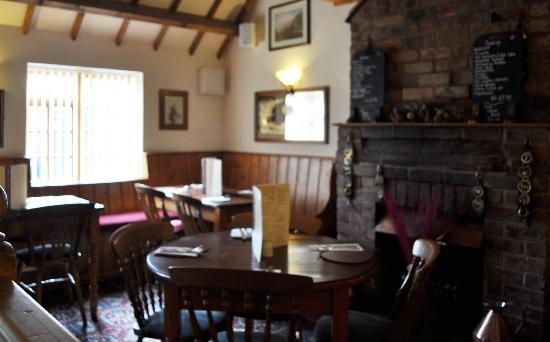 The Red Lion: one of our comfortable dining areas