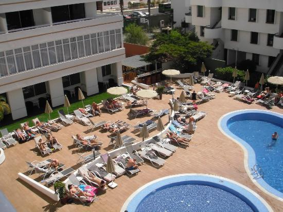 Sunprime Coral Suites And Spa: view from balcony