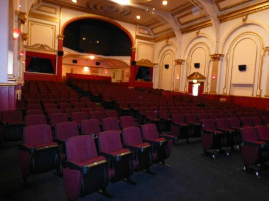 Picturedrome Cinema: our new seats and paint work in screen one