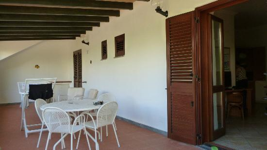 Residence Hotel La Giara : Ground floor balcony