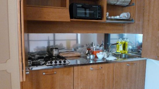 Residence Hotel La Giara: Kitchenette