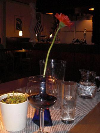 Restaurant  Delphi: Tischdekoration