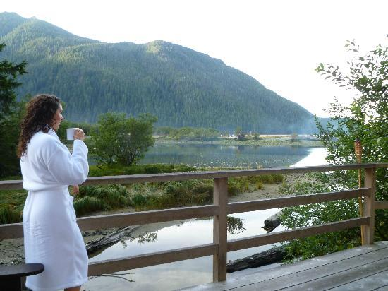 Clayoquot Wilderness Resort: If only I could start every day like this