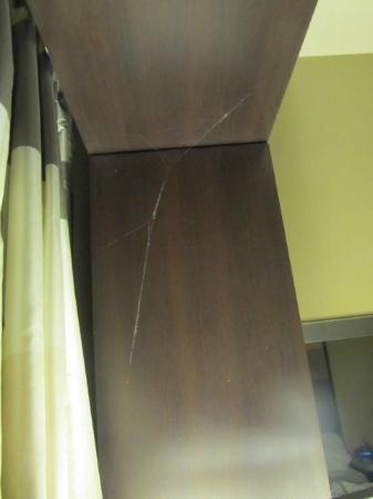 Disney's Contemporary Resort: cob web by patio door