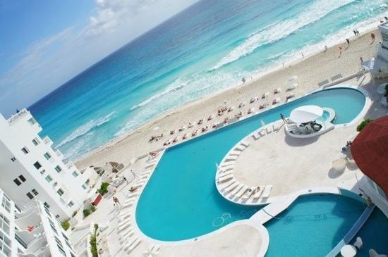 Bel Air Collection Resort & Spa Cancun: vue de la chambre