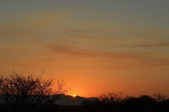 Tangala Safari Camp: Complimentary bushveld sunset
