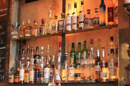 Revival Bar+Kitchen: huge gin selection