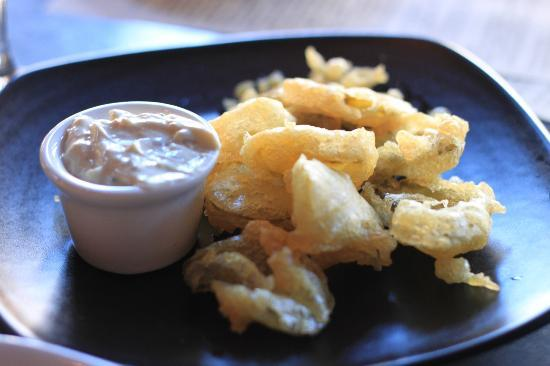 Revival Bar+Kitchen: tempura pickles