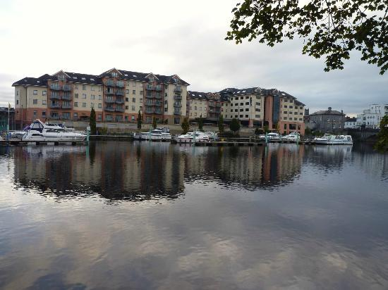 Radisson Blu Hotel, Athlone: view from across Shannon