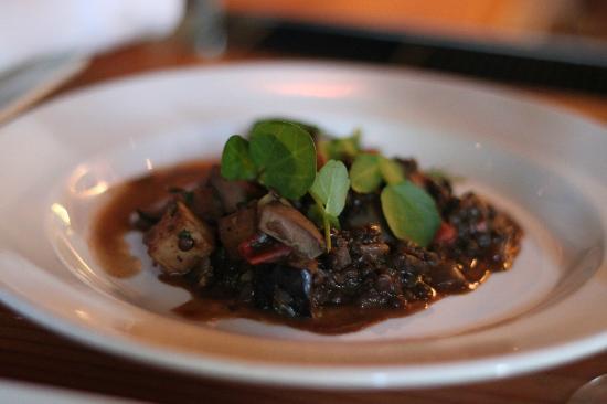 Gather: Pork kidneys with lentils