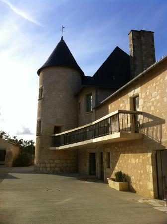 Domaine du Normandoux: le manoir