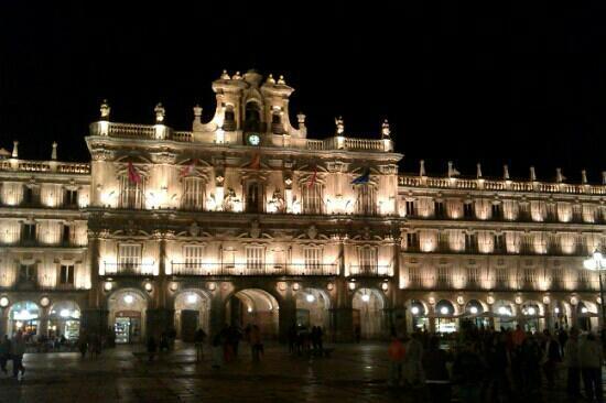 Salamanca's Plaza Mayor : plaza mayor