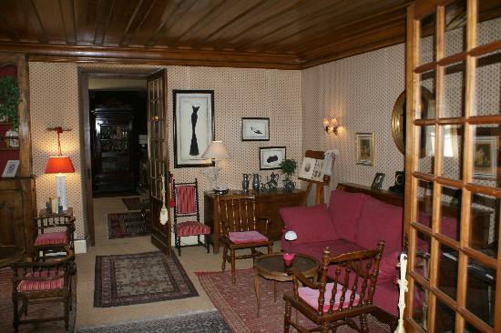 Hôtel Les Glycines : un salon