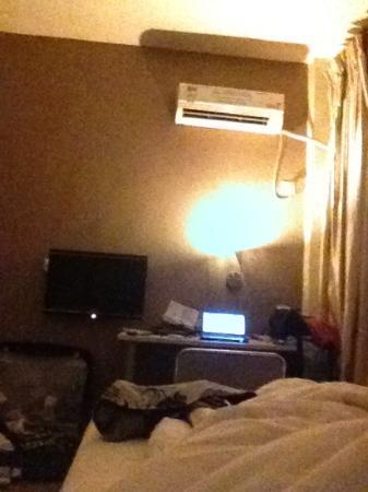 Minghong Hotel Guangzhou Xiwan Road : desde la cama