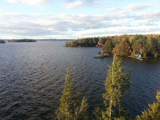 Taboo Muskoka Resort: View from our room