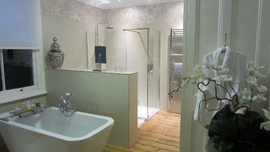 Trinity Hall Bed & Breakfast: Extra-large bathroom