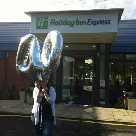 Holiday Inn Express Preston South: My 40th birthday party had come to an end