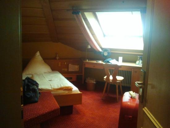 Hotel Petershof: Habitación individual 4ª planta