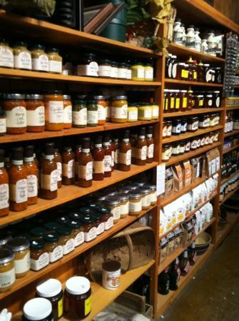 Schoharie Valley Farms/The Carrot Barn: all kinds of local canned goods!