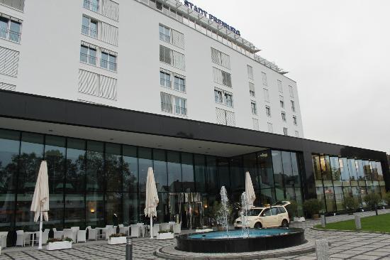 Hotel Stadt Freiburg: Fachada del Hotel