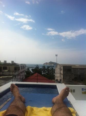 Casa de Isabella - a Kali Hotel: view from the private jacuzzi on the top floor.
