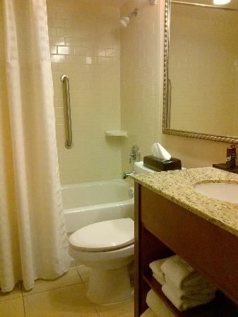 Embassy Suites by Hilton Philadelphia - Center City: Small bathroom