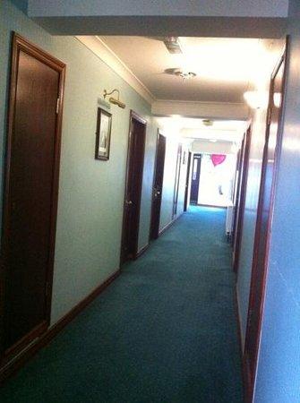 Seaview Hotel:                                     hallway
