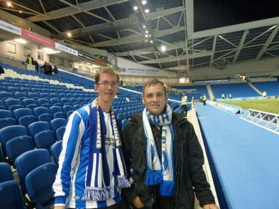 American Express Community Stadium: great night at the Amex
