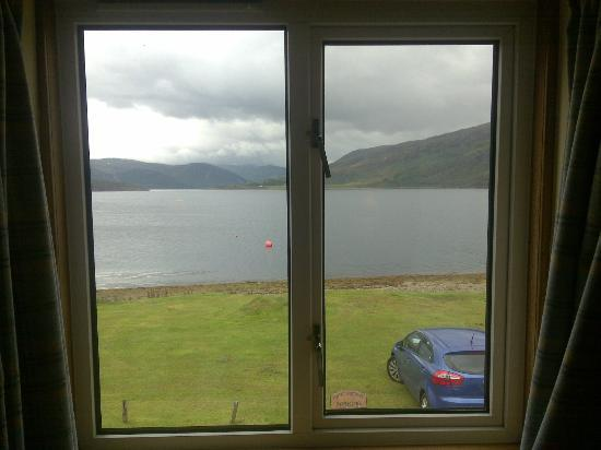 "Point Cottage B&B: La vista dalla camera ""Beinn Dearg"""