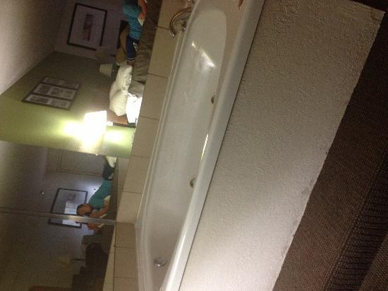 Sleep Inn & Suites: The tub