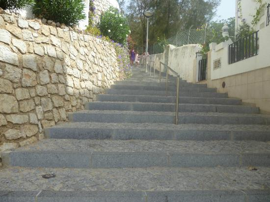 Cerro Malpique Aparthotel: the steps