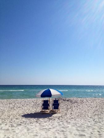 Hilton Pensacola Beach: View from the Beach