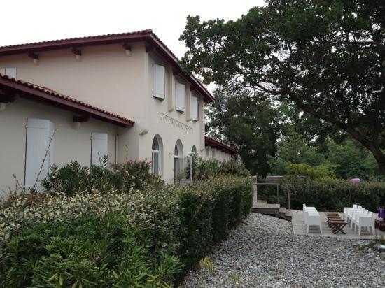La Maison de la Prade : la façade principale