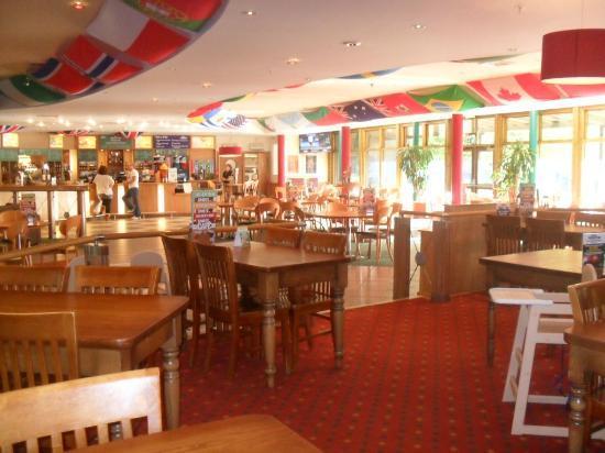 Center Parcs Sports Cafe Menu