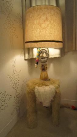 Claska: Room 702 Artist Designed Lamp