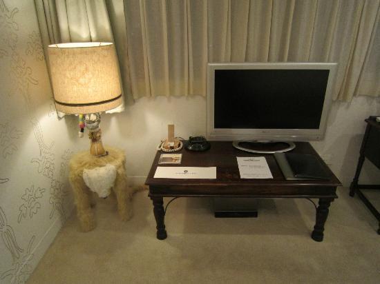 Claska: Room 702 Artist Designed Lamp and Furnishings