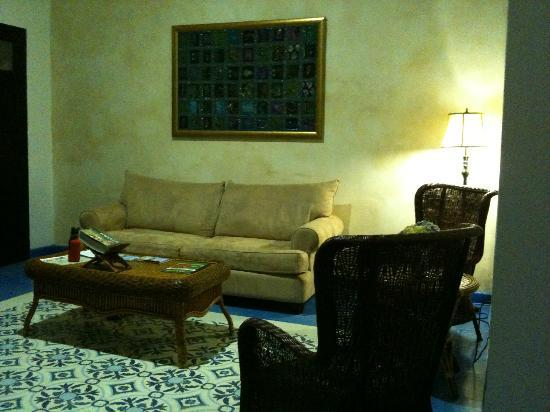 La Terraza de San Juan: Very comfortable living room