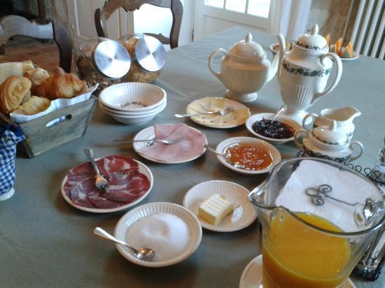 Domaine de Givré : Breakfast