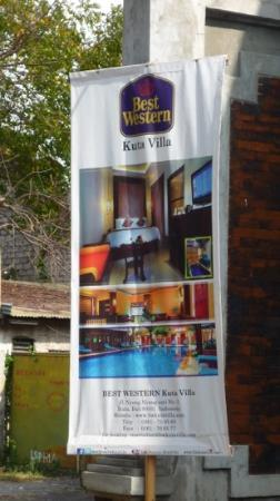 BEST WESTERN Kuta Villa: hotel ad description