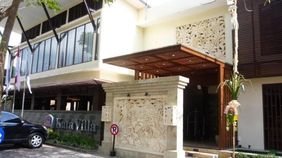 BEST WESTERN Kuta Villa: hotel entrance