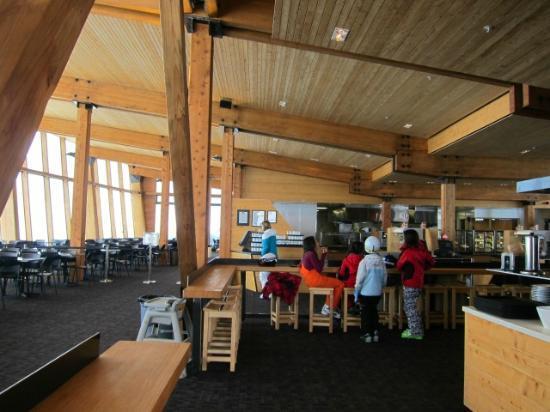 Whakapapa Ski Resort: ゲレ食屋